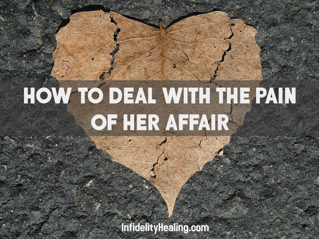 pain of her affair