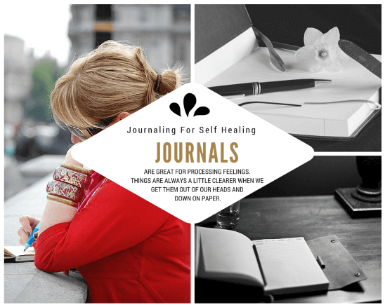 journaling for self healing