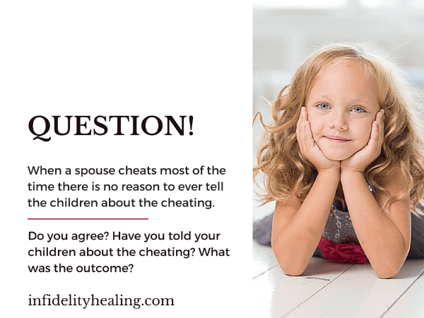 Cheats When What Do Spouse To A