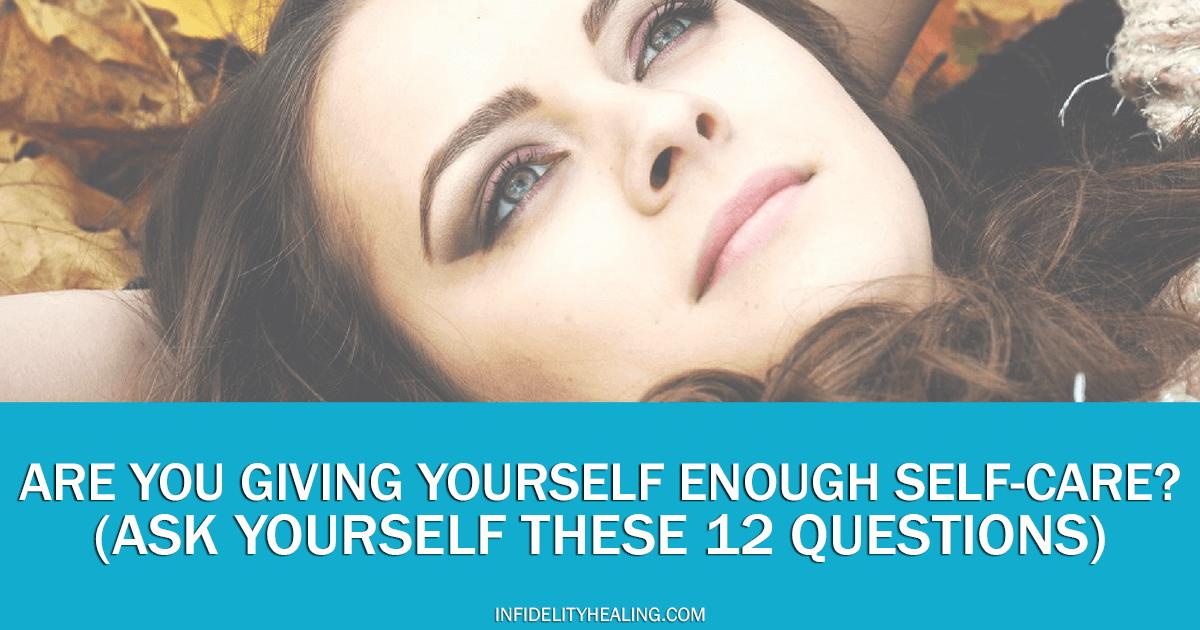 self care assessment quiz