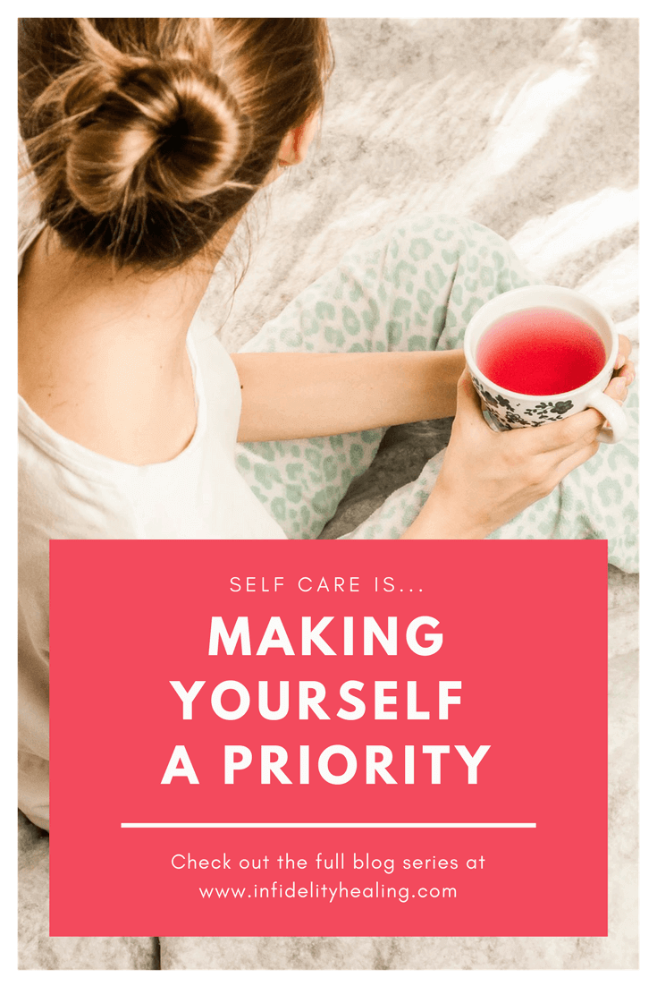 Create a self-care routine that is unique to you and feeds your needs, wants, and desires. Include it in your schedule so it becomes a habit.