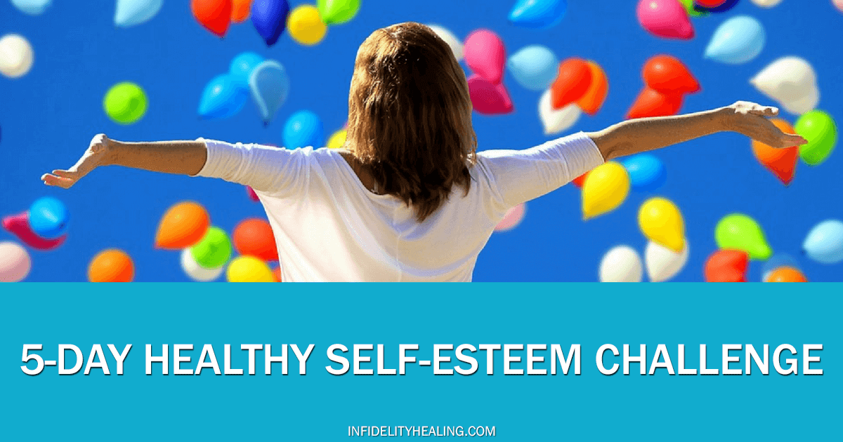 how to overcome low self esteem challenge