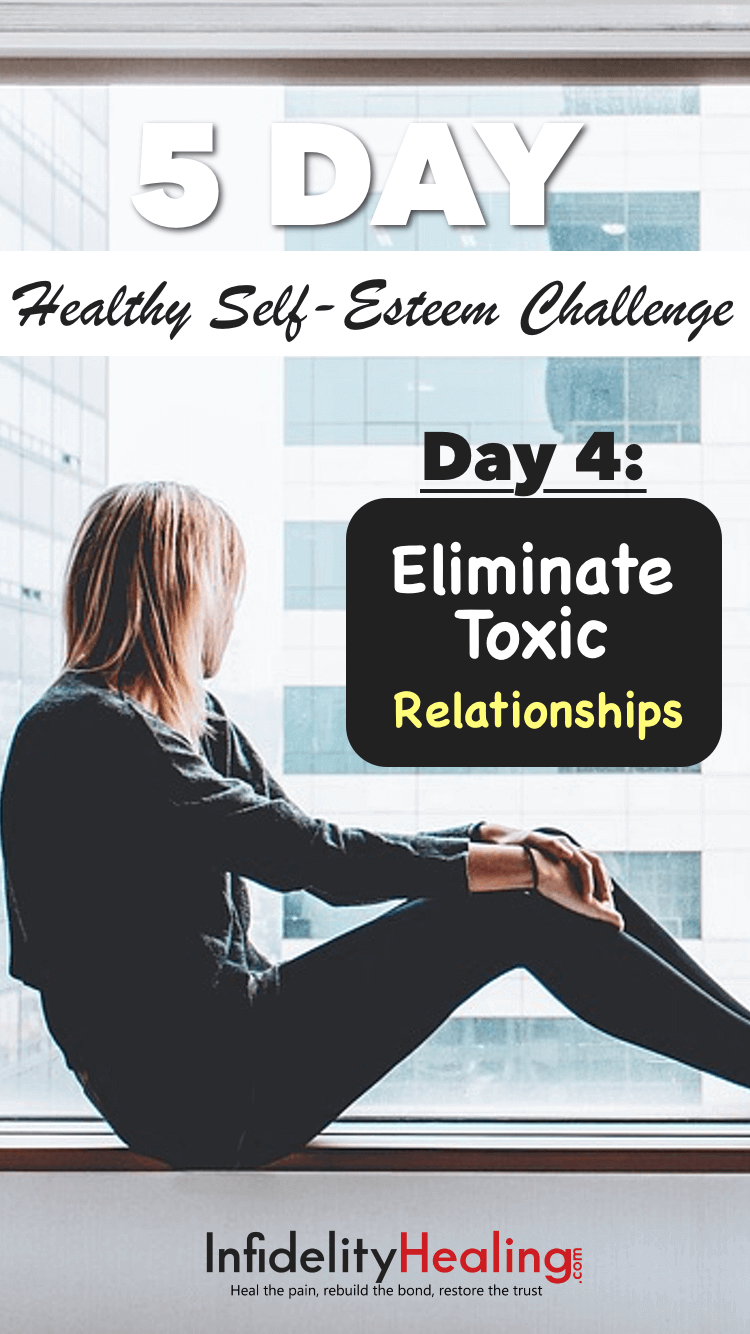 Are your friends really helping you? In today's challenge you're going to take stock of your friendships and you're going to identify those people who really build up your self-esteem.