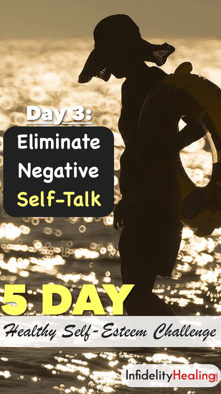 Every day, you have two voices running through your head. One is REALLY good… the other is REALLY bad. And here's the deal: You'll never grow in self-esteem and self-love until you STOP listening to the bad voice.