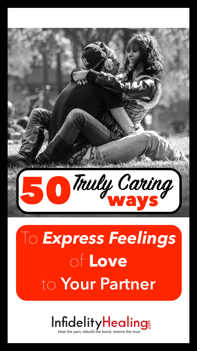 Show your partner how much you love them! This list of 50 ways to show love can rekindle a romance or take a relationship to the next level. From simple to sublime, here's something for every couple.