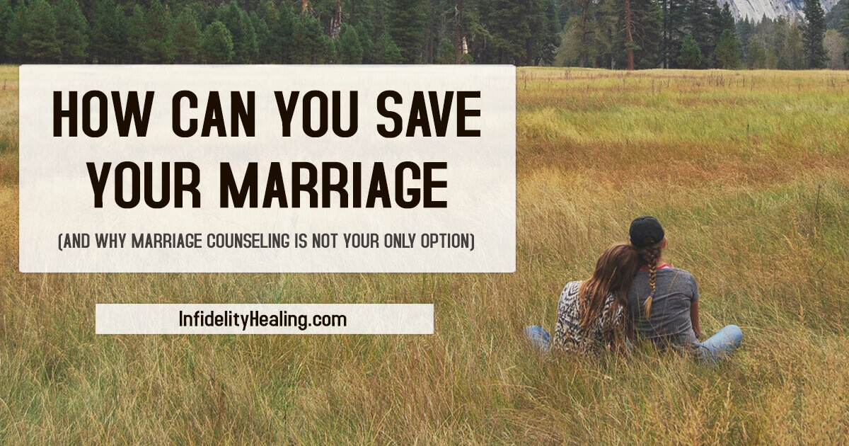 how you can save your marriage
