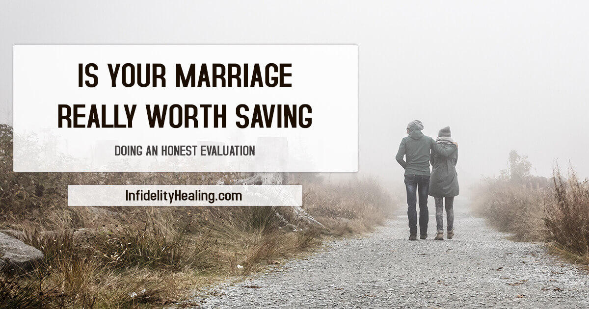 is your marriage really worth saving