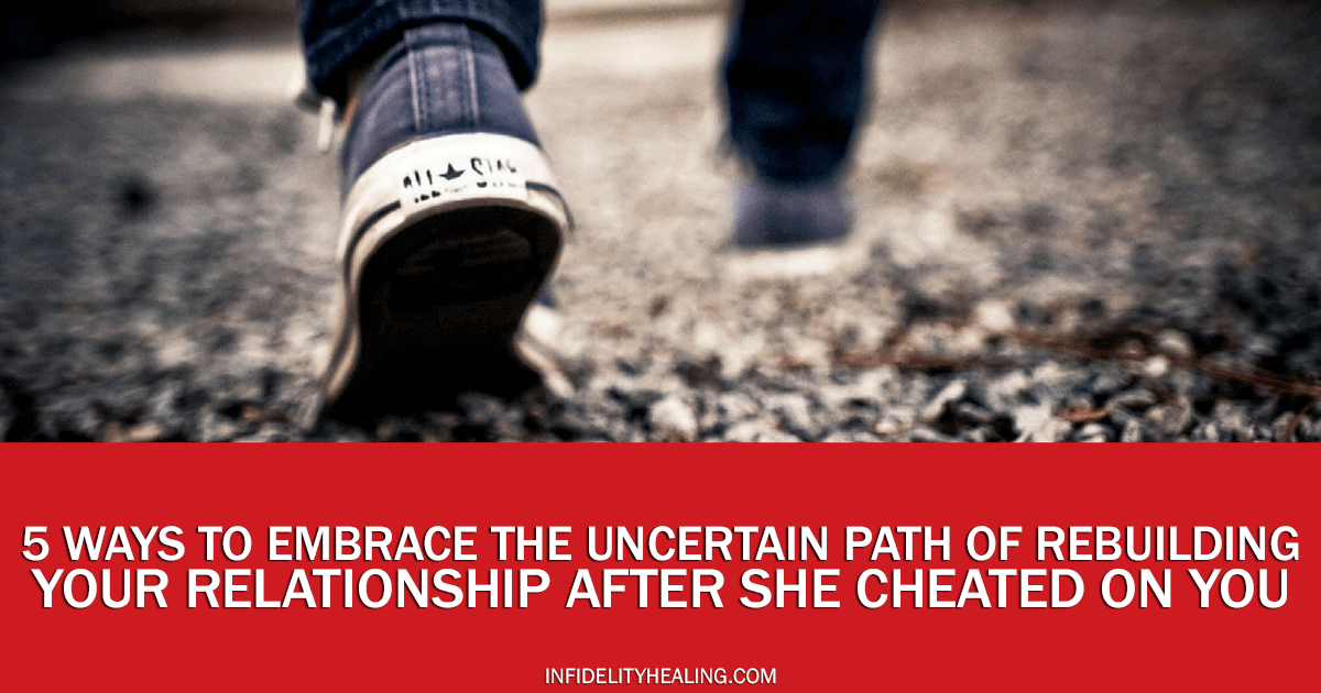 can a relationship work after she cheated