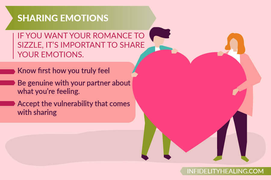 relationship problems sharing emotions